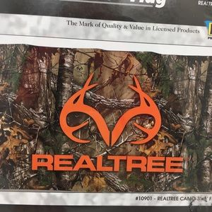 Realtree Camo Deer Flag NWT Official Banner 3/' X 5/' Outdoor Hunting Antlers